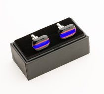 OM Glass Cufflinks