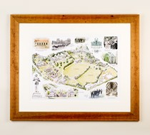 Illustrated Map of Malvern College (150th Anniversary Edition)